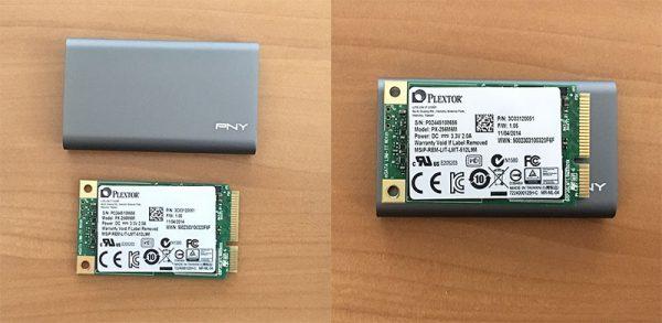 PSD1CS1050-480-FFSとmSATA SSD