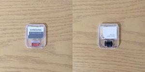 サムスン マイクロSDHC EVO Plus 32GB MB-MC32GA/ECO ケース収納時