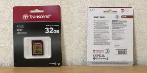 トランセンド 500S SDHCカード 32GB TS32GSDC500S パッケージ